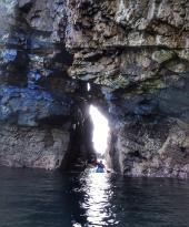 Sea arch Horn Head