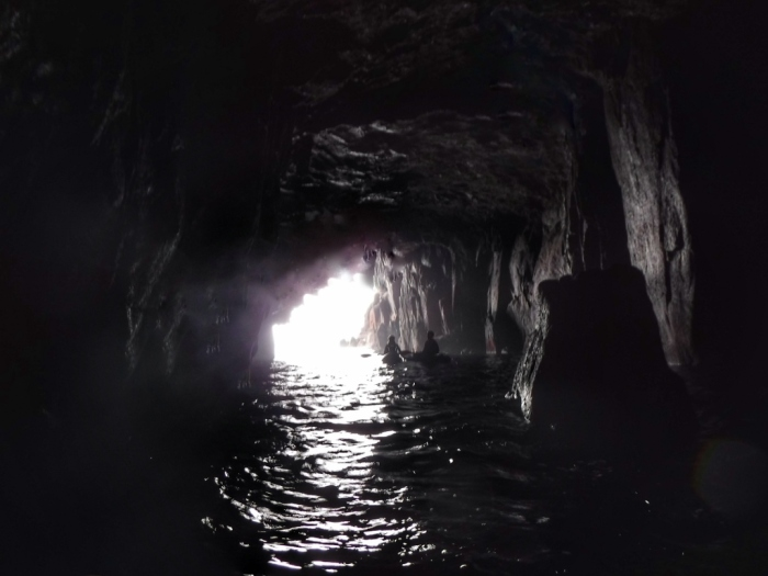 Donegal Island cave 2018