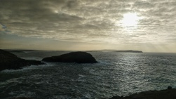 View from the back of Gola Island