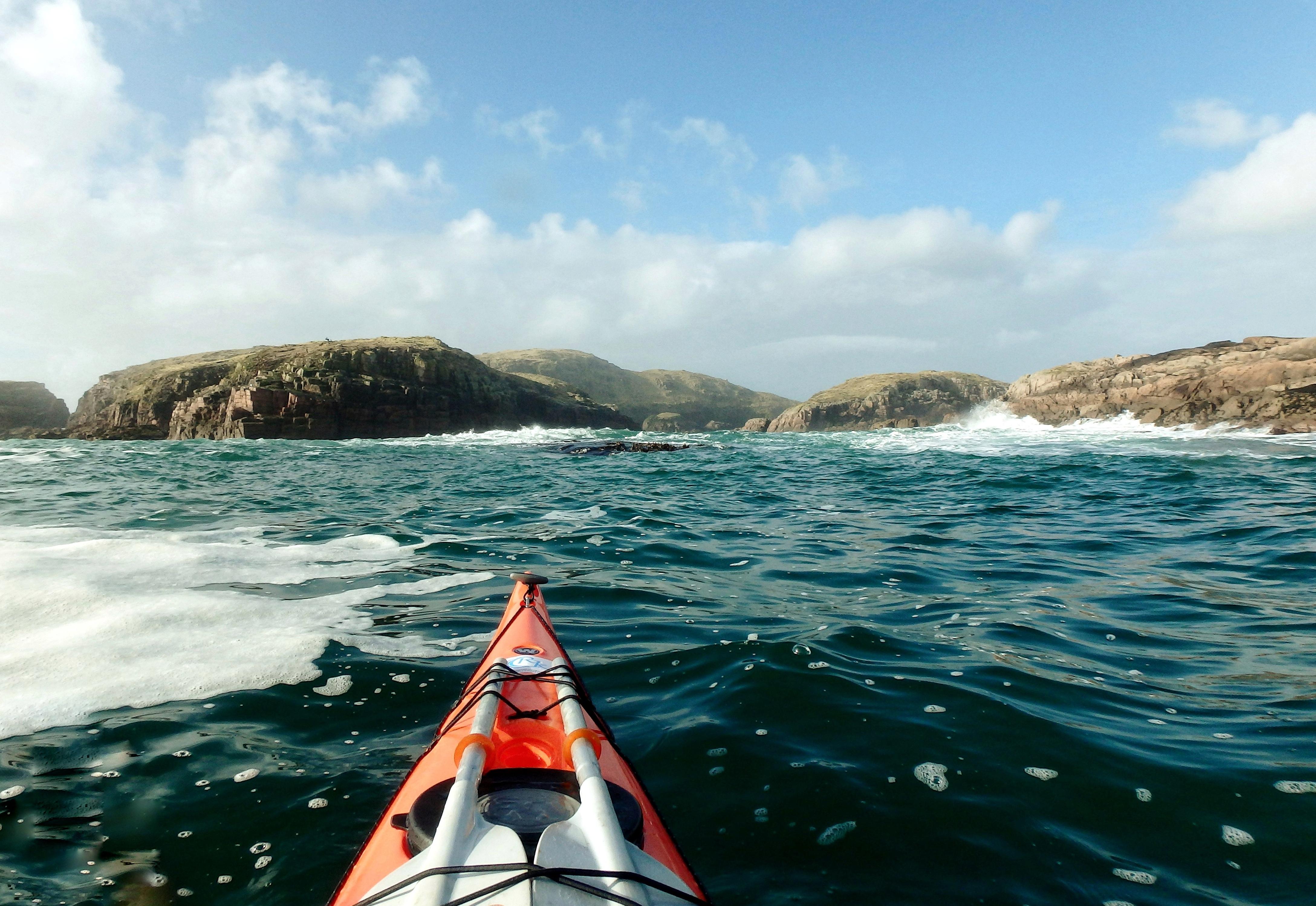 Kayaking in Donegal sea kayaking in Donegal kayaking Gola Island Kayaking Umfin Island