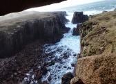 Rocky cove on Gola Island