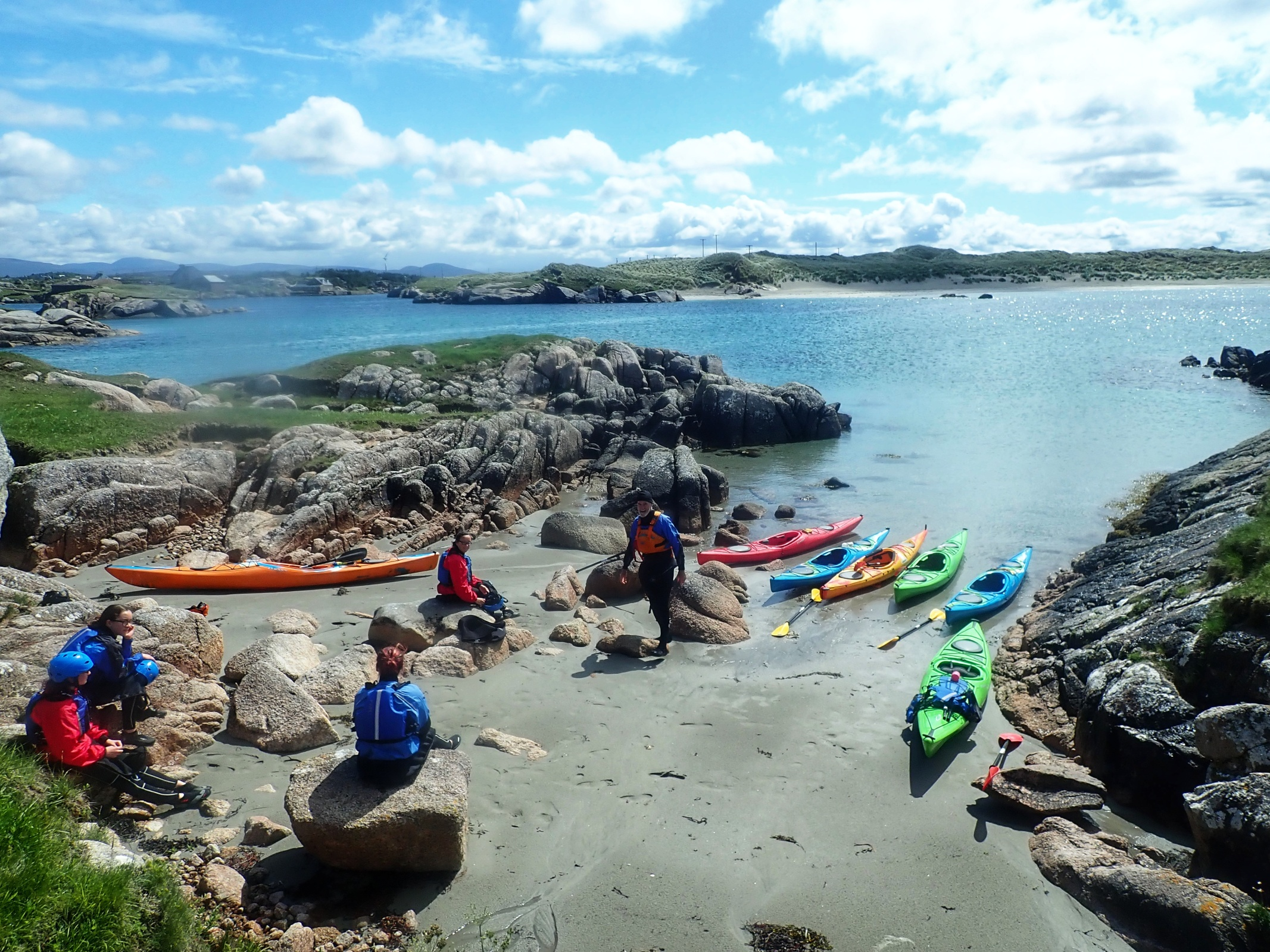 Sea Kayaking Donegal, Ireland